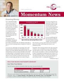 Orlando Health's Momentum News - 4Q 2012