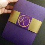 Folded Invitation