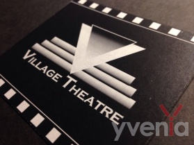 Fictional movie theatre main logo concept