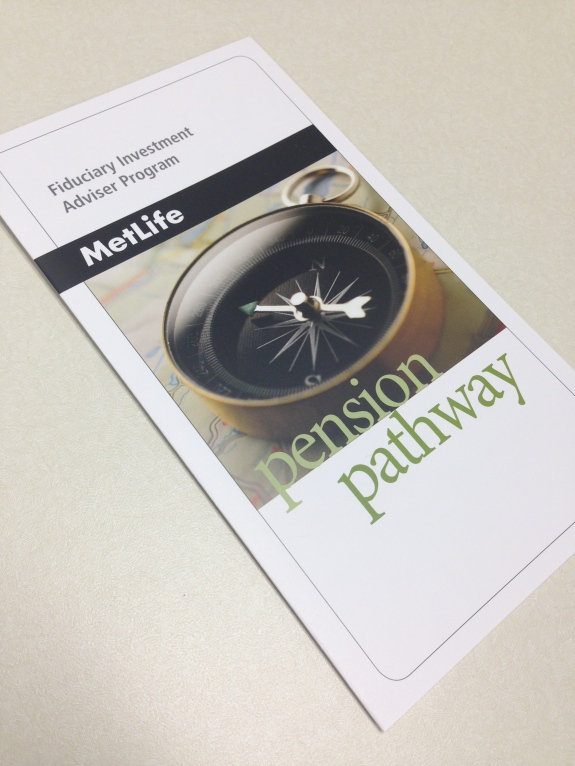 Pension Pathway brochure