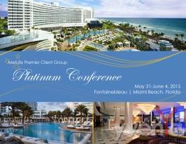 Platinum Conference Promo Flyer