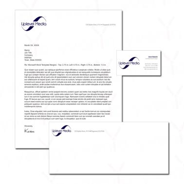 Uplevel Media - Brand Identity Kit