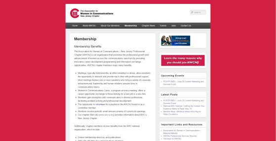 Membership Benefits Page - AFTER